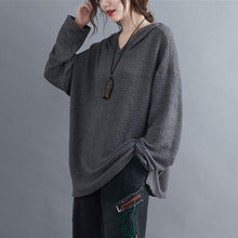Load image into Gallery viewer, Women Autumn Long Sleeve Casual Hoodies Oversized Female Pullover Sweatshirt