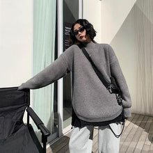 Load image into Gallery viewer, Goddess Fan 2020 Winter Small Fresh Casual Plus Size Solid Color Elegant Sweater