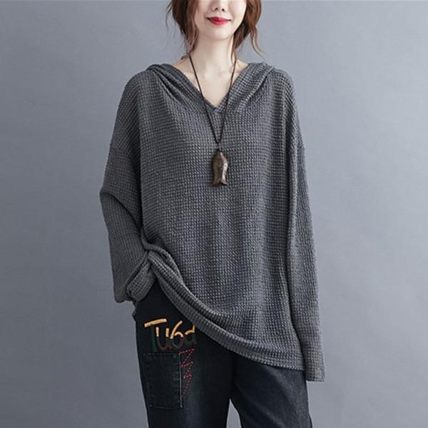 Women Autumn Long Sleeve Casual Hoodies Oversized Female Pullover Sweatshirt