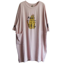 Load image into Gallery viewer, Fashion Round Neck Casual Printed Cotton Dress