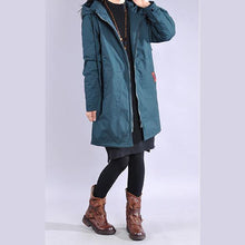Load image into Gallery viewer, Fine army green winter coats plus size clothing winter jacket hooded winter coats
