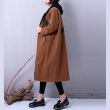 Load image into Gallery viewer, Fine chocolate women parkas plus size clothing hooded YZ-2018111401