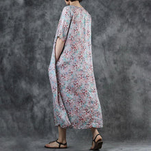 Load image into Gallery viewer, Floral Printed Pleated Short Sleeve Midi Dress