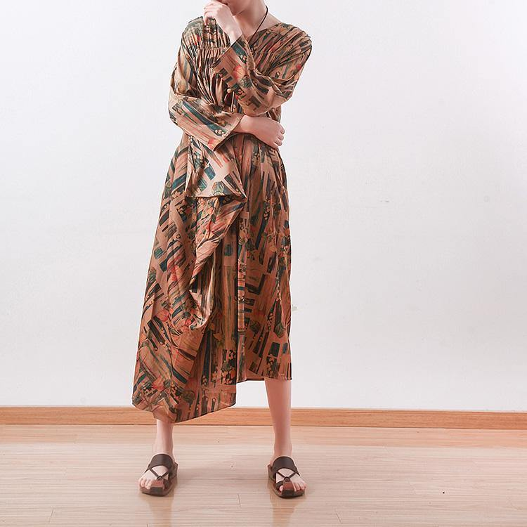 Muslim silk clothes For Women Pakistani wrinkled Ideas brown silk Dresses Summer
