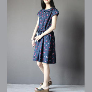 Naw top quality short sleeve cotton casual sundress