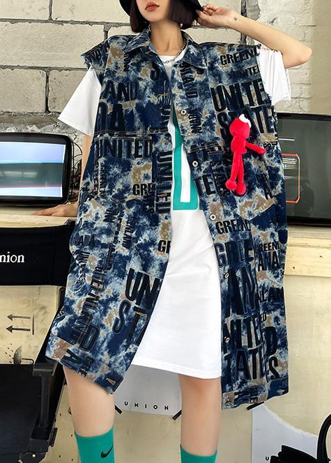 New Women Spring And Spring Fashion Denim Vest