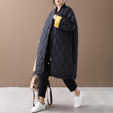 Load image into Gallery viewer, New black duck down coat oversize down jacket winter Jackets zippered