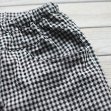 Load image into Gallery viewer, Plaid women long cotton pants trousers