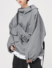 Load image into Gallery viewer, Salt Sweatshirt Women's Fall 2020 New Loose Pullover Top BF Wind Jacket