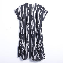 Load image into Gallery viewer, Summer Casual Mid-Calf Pullover Loose Short Sleeve  Dress
