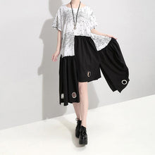 Load image into Gallery viewer, Summer Short Sleeve Irregular Loose Casual Dress