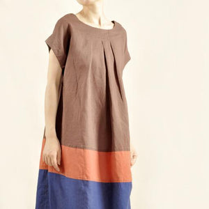 Sweet summer time cotton dress linen maxi dress