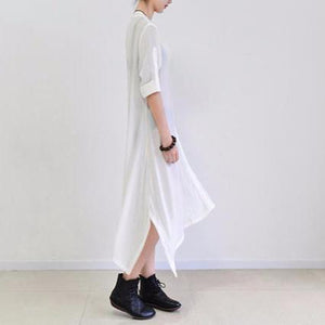 White summer silk sundress long cardigans oversize