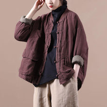 Load image into Gallery viewer, Luxury Spring Pocket Retro Coat