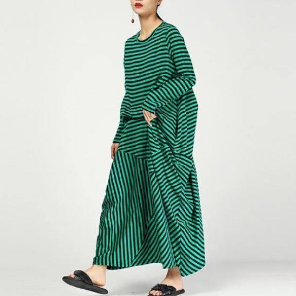 Women cotton clothes Pakistani O neck Cotton Streetwear Maxi Dress