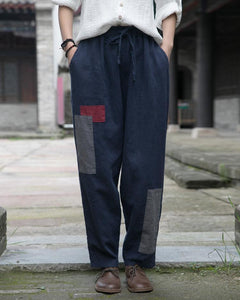 2020 Autumn Winter New Leisure All-match Women Lace Up Pants