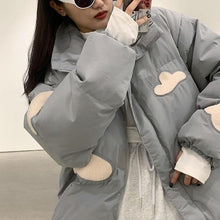 Load image into Gallery viewer, Casual Fashion Women Winter The New Stand Collar Loose Keep Warm All-match Parka Coat