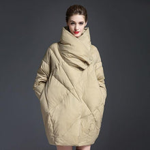 Load image into Gallery viewer, Casual Warm New Over size Clothing Pockets High Quality Women Coats