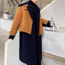 Load image into Gallery viewer, Loose Splicing Fashion Women Winter The New Personality Street Trendy