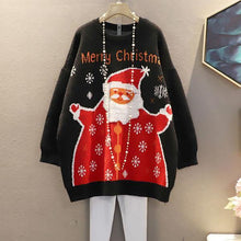 Load image into Gallery viewer, Winter Letter Tide Fashion New Korean Style O Neck Collar Long Sleeve Pullover Top