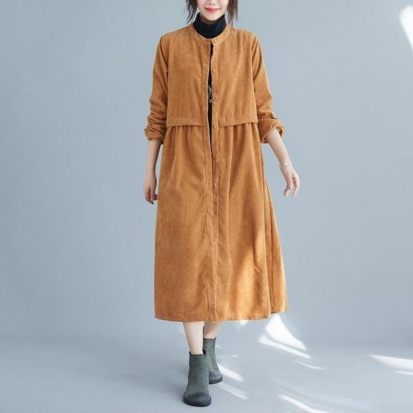 2020 New Comfortable All-match Women Coat