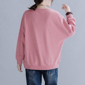 100% Cotton Women Autumn Long Sleeve l Pullovers Hoodies