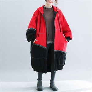 2020 New Fashion Oversized Winter Trench Coats Korean Large Size Parkas Outerwear