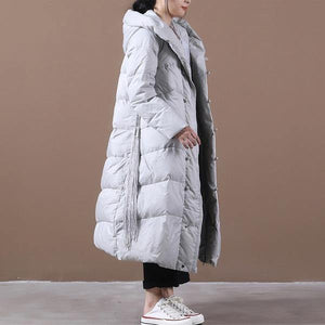 2020 Winter Warm Female Vintage Loose White Duck Down Coats