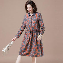 Load image into Gallery viewer, Plus Size Women Knee-length Casual Dress New 2020