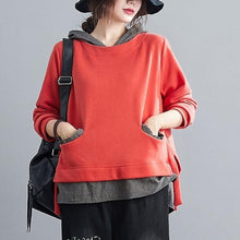 Load image into Gallery viewer, 2020 Simple Style All-match Loose Comfortable Female Cotton Hoodies S1789