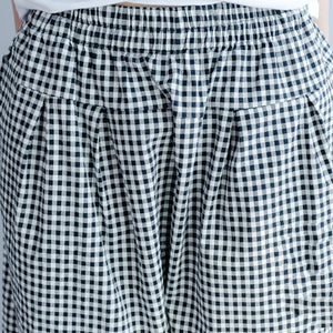 new 2017 gray casual plaid pants oversize summer harem pants