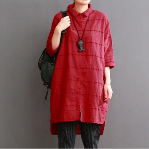 red linen dress for summer red dress casual sundress
