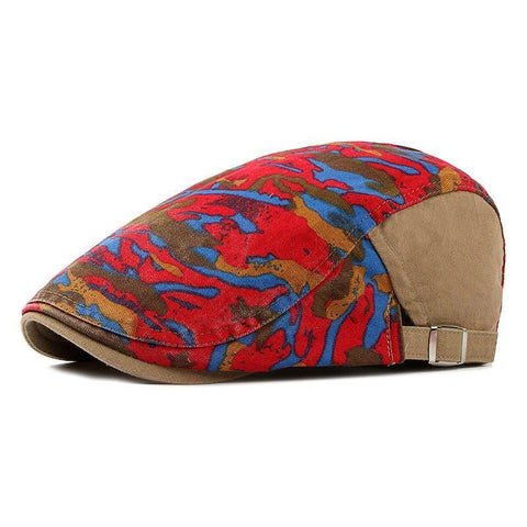 Casquette Camouflage Rouge