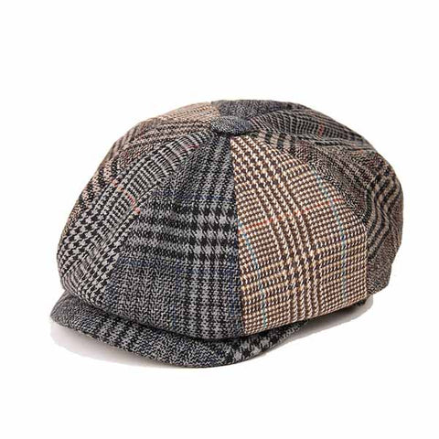 Casquette Irlandaise Harris Tweed