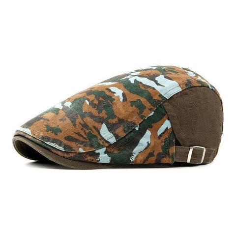 Casquette Plate Camouflage