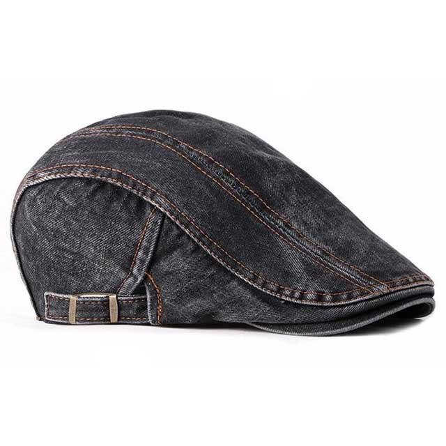 Casquette Homme Plate Jean