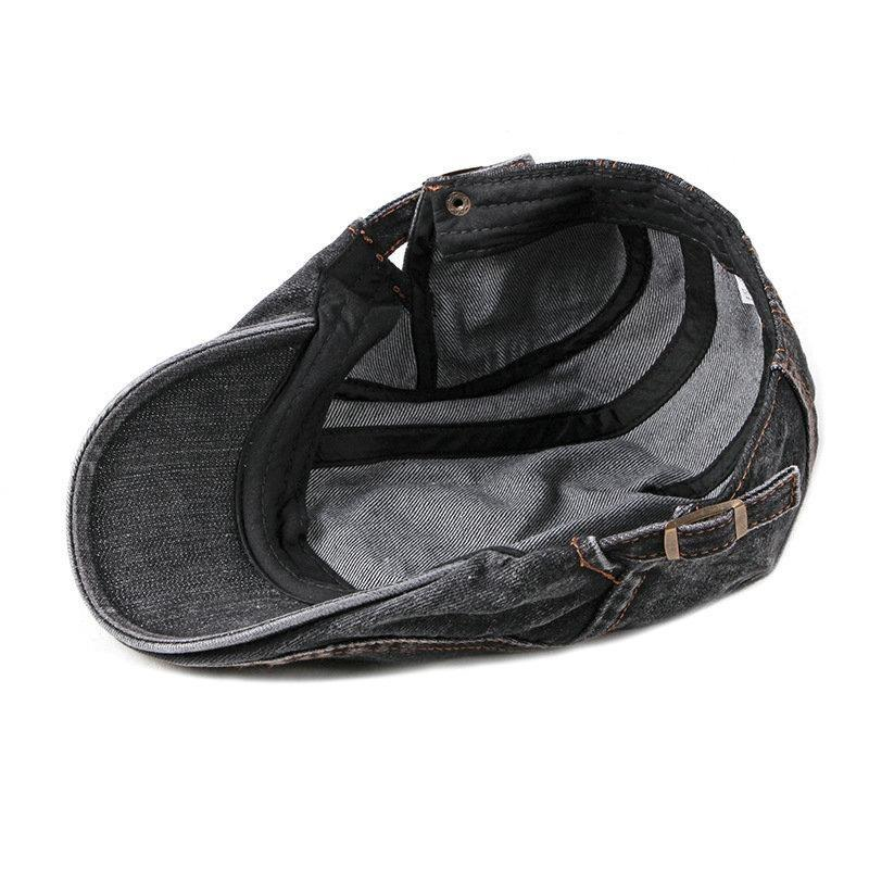 Casquette Jean Homme Plate