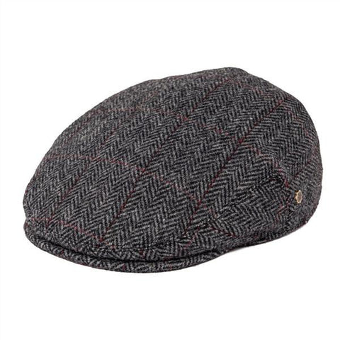 Casquette Plate Homme Tweed