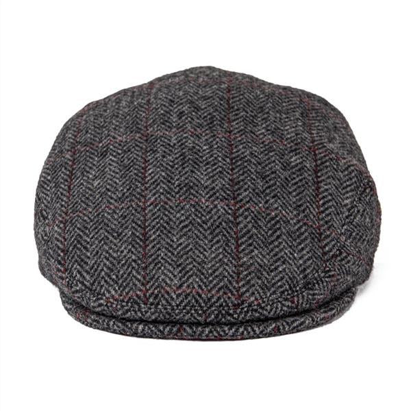 Casquette Tweed Plate