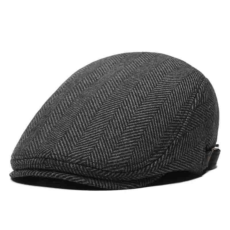 Casquette Plate Tweed