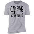 Boys' Camping is In-Tents Funny T-Shirt