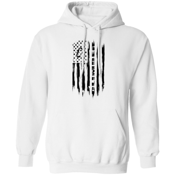 Climber Rock Climbing Bouldering Trad Sport American Flag Pullover Hoodie