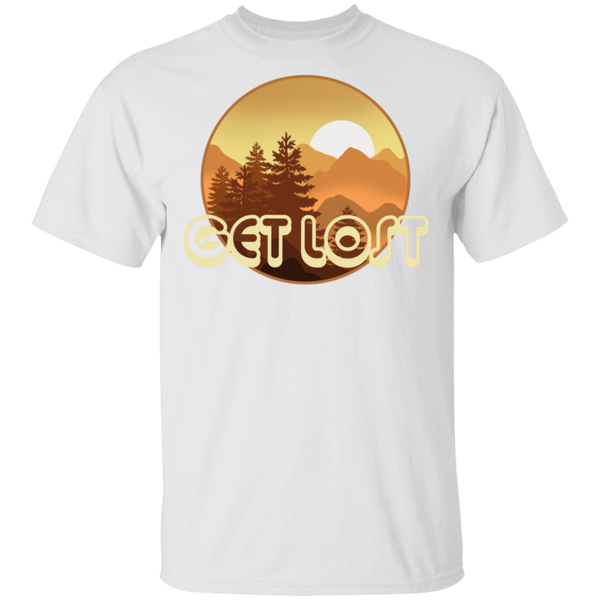 Get Lost in Nature Camping T-Shirt