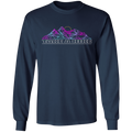 Take a Hike Abstract Camping Nature Long Sleeve T-Shirt