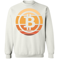 Bitcoin Hodl Cryptocurrency BTC Crewneck Sweatshirt