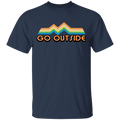 Go Outside Camping Nature Bright T-Shirt