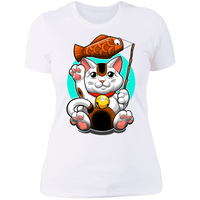 Maneki-neko Lucky Cat Good Fortune Women's T-Shirt
