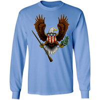 1776 American Bald Eagle Long Sleeve T-Shirt