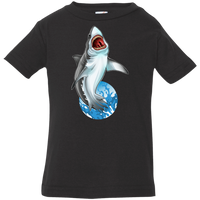 Infant Great White Shark Saltwater Jersey T-Shirt