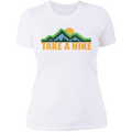 Women's Take a Hike Camping Hiking Nature T-Shirt